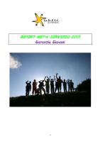 Report metà servizio GG 2015