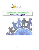 Report metà servizio SCR 2015